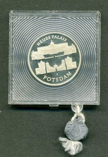 DDR-Neues Palais  5 Mark 1986 Proof