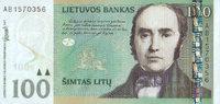 100 Litu 2007 Litauen Pick 70 unc  60,00 EUR  +  6,50 EUR shipping