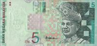 5 Ringgit ND(2001) Malaysia Pick 41a unc/kassenfrisch  6,00 EUR  +  6,50 EUR shipping