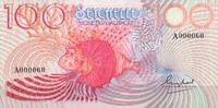100 Rupees ND(1979) Seychellen Pick 26a unc  115,00 EUR