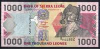 1.000 Leones  Sierra Leone Pick 24c unc/kassenfrisch  2,50 EUR  +  6,50 EUR shipping