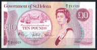 St.Helena 10 Pounds ND(1979) unc