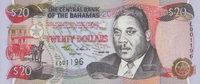 20 Dollars  Bahamas Pick 65 unc  90,00 EUR  +  6,50 EUR shipping