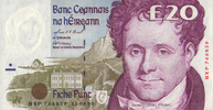 Irland-Repubilk 20 Pounds  12.8.1999 unc  150,00 EUR