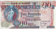 10 Pounds 05.9.2000 Bank of Irland Pick 75c unc  55,00 EUR  +  6,50 EUR shipping
