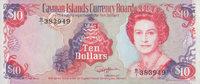 10 Dollars  Cayman Island Pick 13b unc  100,00 EUR  +  6,50 EUR shipping
