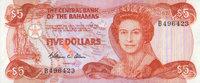 5 Dollars (1984) Bahamas Pick 45a unc  125,00 EUR  +  6,50 EUR shipping