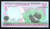 500 Francs 01.12.1998 Rwanda Pick 26 unc/kassenfrisch  5,00 EUR  +  6,50 EUR shipping