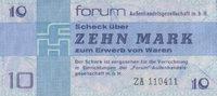 10 Mark 1979 Forum-Außenhandelsgesellschaft Ros.370b unc/kassenfrisch  75,00 EUR  +  6,50 EUR shipping