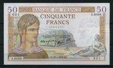 50 Francs 28.4.1938 Frankreich Pick 85b 2  250,00 EUR  +  6,50 EUR shipping