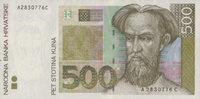 500 Kuna  Kroatien Pick 34a unc  138.86 US$ 125,00 EUR  +  7.22 US$ shipping