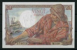 20 Francs 05.7.1945 Frankreich Pick 100b unc  55,00 EUR  +  6,50 EUR shipping