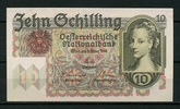 10 Schillings 02.2.1946 Österreich Pick 122 1-  180,00 EUR
