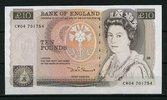 10 Pounds  Großbritannien Pick 379d unc  70,00 EUR  +  6,50 EUR shipping