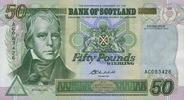 50 Pounds 24.9.2004 Bank of Scotland Pick 122d unc  170,00 EUR  +  6,50 EUR shipping