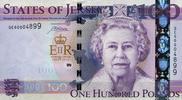 100 Pounds 2012 Jersey Pick 37a unc  220,00 EUR
