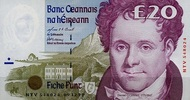 Irland Repubilk 20 Pounds 09.12.1999 unc  130,00 EUR 