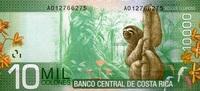 10.000 Colones  Costa-Rica Pick 277 unc/kassenfrisch  35,00 EUR  +  6,50 EUR shipping