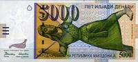 5.000 Denari  Mazedonien Pick 19a unc/kassenfrisch  179,00 EUR