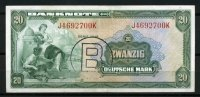Bank Deutscher L&auml;nder 20 Mark 1948 2-3  115,00 EUR 