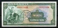20 Mark 1948 Bank Deutscher Länder  2-3  115,00 EUR