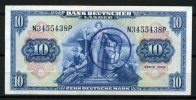 Bank Deutscher L&auml;nder 10 Mark 1949 1-  180,00 EUR 