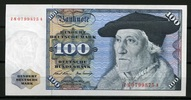 Deutsche Bundesbank Ersatznote ZN 100 Mark 1970 1  355,00 EUR