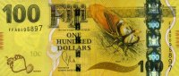 Fiji-Insel 100 Dollars 2013 unc  93,00 EUR 
