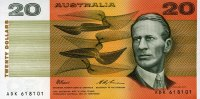 Australien 20 Dollars (1994) unc  88,00 EUR 