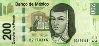 200 Pesos 03.5.2010 Mexico Pick 125 unc/kassenfrisch  25,00 EUR  +  6,50 EUR shipping