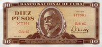10 Pesos 1978 Cuba Pick 104b unc/kassenfrisch  11,95 EUR  +  6,50 EUR shipping