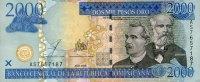 2.000 Pesos Oro 2003 Dominikanische Republik Pick 174b unc  85,00 EUR