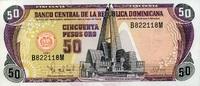 50 Pesos Oro 1997 Dominikanische Republik Pick 155 unc/kassenfrisch  14,00 EUR  +  6,50 EUR shipping