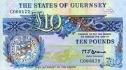 10 Pounds ND(1980) Guernsey Pick 50b unc  115,00 EUR