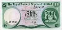 The Royal Bank of Scotland 1 Pound 01.5.19...