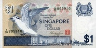 1 Dollar ND(1976) Singapore P.9 unc/kassenfrisch  2,50 EUR  +  6,50 EUR shipping