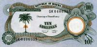 10 Shillings (1968) Bifara Pick 4 unc/kassenfrisch  7,00 EUR  +  6,50 EUR shipping