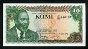 10 Kumi 01.7.1978 Kenia Pick 16 unc/kassenfrisch  2,50 EUR  +  6,50 EUR shipping