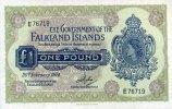 1 Pound 20.2.1974 Falkland-Insel Pick 8b unc  125,00 EUR  +  6,50 EUR shipping