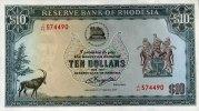 10 Dollars 01.3.1976 Rhodesien Pick 37a unc/kassenfrisch  130,00 EUR  +  6,50 EUR shipping