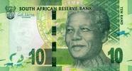 10 Rand 2012 Süd-Afrika Pick 133 unc/kassenfrisch  2,50 EUR  +  6,50 EUR shipping