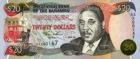 20 Dollars 2000 Bahamas Pick 65A unc  80,00 EUR  +  6,50 EUR shipping