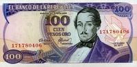 100 Pesos 01.1.1977 Kolumbien Pick 418a unc/kassenfrisch  4,50 EUR  +  6,50 EUR shipping