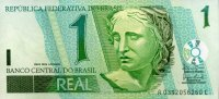 Brasilien 1 Real ND(2003-) unc  1,75 EUR