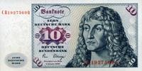 10 Mark 02.1.1980 Deutsche Bundesbank Ros.286a unc/kassenfrisch  21,50 EUR  +  6,50 EUR shipping