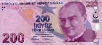 200 Lira 2009 Türkei Pick 227 unc/kassenfrisch  160,00 EUR  +  6,50 EUR shipping