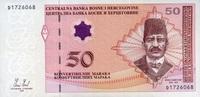 50 Maraka 2008 Bosnien & Herzegovina Pick 67b unc/kassenfrisch  66.72 US$ 59,50 EUR