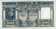1.000 Francs 16.1.1945 Belgien Pick 128b unc/kassenfrisch  300,00 EUR  +  6,50 EUR shipping