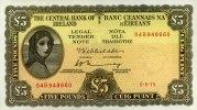 5 Pounds 05.9.1975 Irland-Repubilk  unc/kassenfrisch  280,00 EUR  +  6,50 EUR shipping