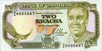 2 Kwacha 1989 Zambia Pick 29a unc/kassenfrisch  4,00 EUR  +  6,50 EUR shipping